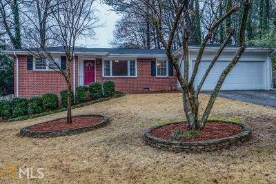 Chamblee Single Family Home Under Contract: 2178 Ellwyn Dr