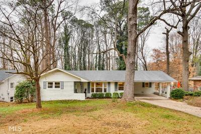 Atlanta Single Family Home New: 2114 Zelda Drive