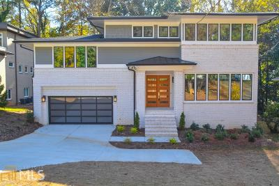 Atlanta Single Family Home New: 1303 Citadel Drive NE