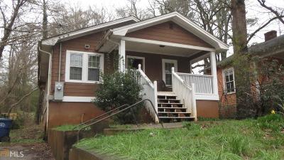 Atlanta Single Family Home New: 1349 Miller Reed Avenue SE