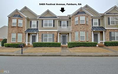 Fairburn Condo/Townhouse New: 5469 Festival Ave