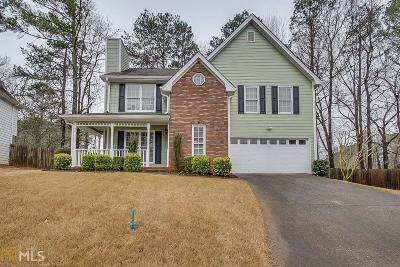 Lawrenceville Single Family Home New: 870 Meadowsong Circle