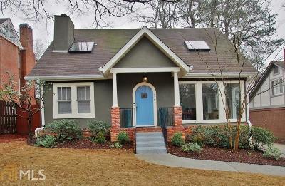 Atlanta Single Family Home Under Contract: 793 Amsterdam Avenue NE
