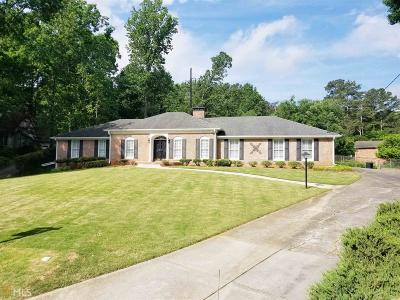 Atlanta Single Family Home New: 1734 Dunridge