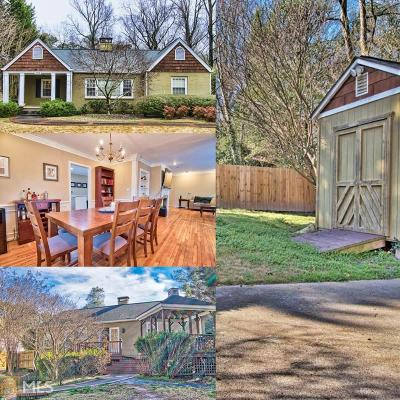 Atlanta Single Family Home New: 1314 Lavista Rd