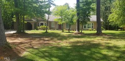 Conyers Single Family Home New: 1631 Smyrna Road