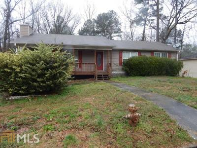 Douglasville Single Family Home Under Contract: 2985 Mill Ct