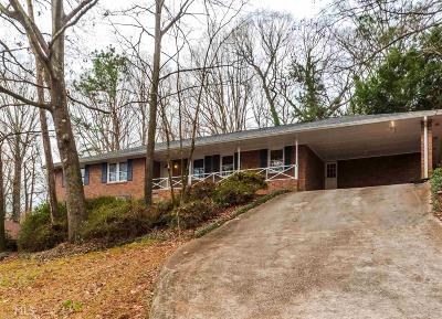 Stone Mountain Single Family Home New: 1707 Grandeus Lane SW