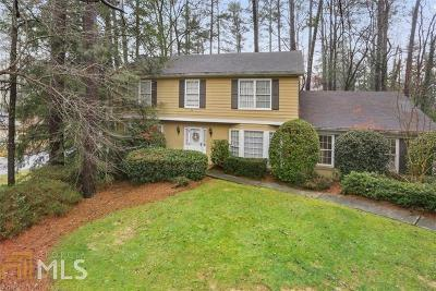 Sandy Springs Single Family Home New: 6185 Weatherly Dr