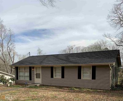 Gainesville Single Family Home New: 1654 Lakeview Circle