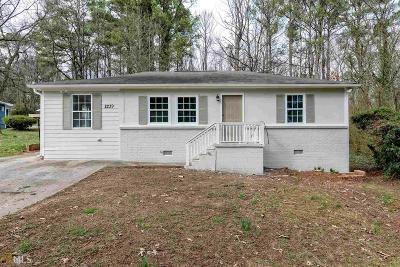 Smyrna Single Family Home New: 2239 SE Gordon Circle SE