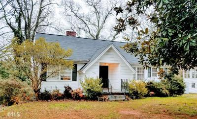 Gainesville Single Family Home New: 661 Blueridge Ave