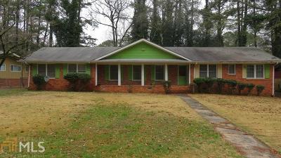 Atlanta Single Family Home New: 1772 Timothy Drive SW