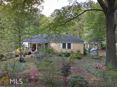 Cobb County Single Family Home Under Contract: 200 Hilltop Cir
