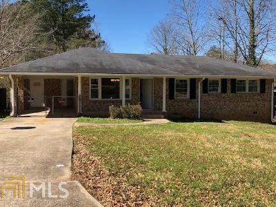Rex Single Family Home Under Contract: 6587 Runlet Way