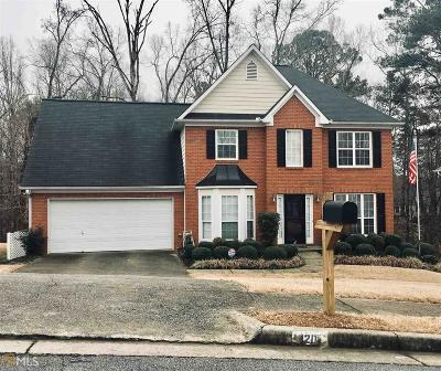 Kennesaw Single Family Home New: 120 NW Park Forest Dr