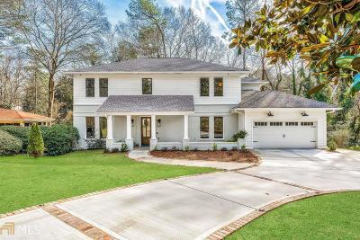 Atlanta Single Family Home New: 3396 Rockhaven Circle NE