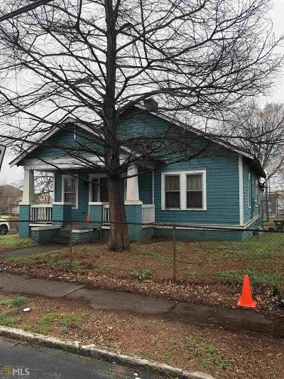 Old Fourth Ward Single Family Home For Sale: 23 NE Randolph St