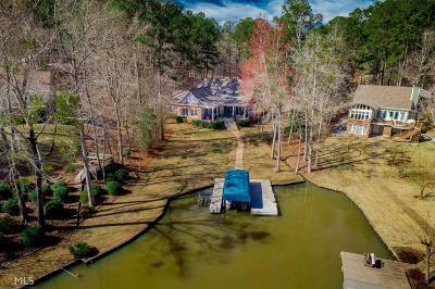 Greensboro, Eatonton Single Family Home Under Contract: 123 S Rock Island Dr