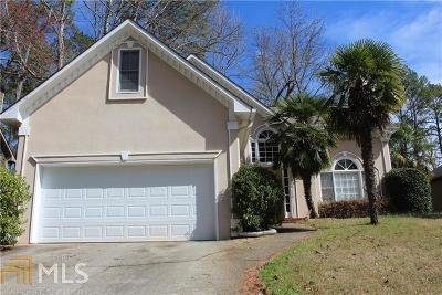 Powder Springs Single Family Home For Sale: 3308 Hillside Dr