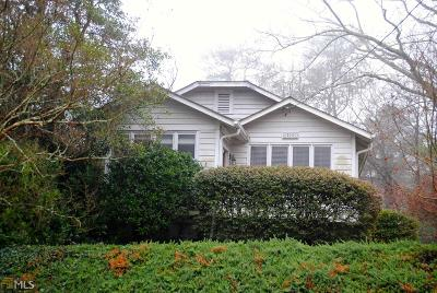Peachtree Hills Single Family Home For Sale: 193 Springdale Dr