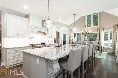 Roswell Single Family Home Under Contract: 12960 Bucksport Dr