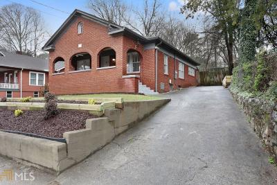 Ormewood Park Single Family Home For Sale: 958 United Ave