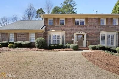 Dunwoody Single Family Home Under Contract: 5248 Wynterhall Dr