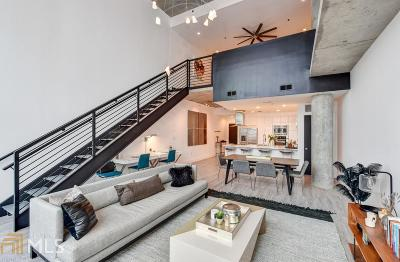 Midcity Lofts Condo/Townhouse Under Contract: 845 Spring St #420