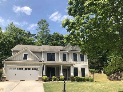 Suwanee Single Family Home For Sale: 3864 Park Castle