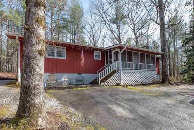 Rabun County Single Family Home For Sale: 4671 Laurel Lodge #1080