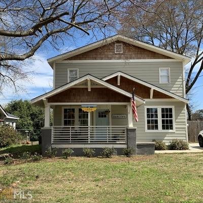Grant Park Single Family Home For Sale: 1050 Hill St