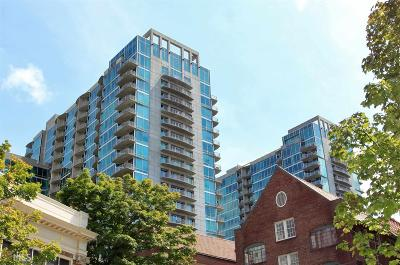 Metropolis Condo/Townhouse For Sale: 943 Peachtree St #806