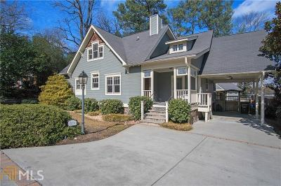 Chamblee Single Family Home Back On Market: 2270 Lawson Way