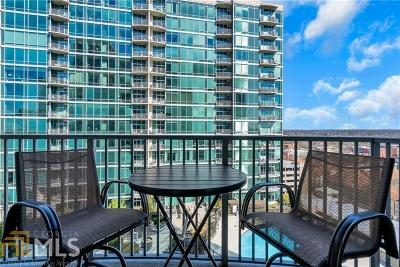 Metropolis Condo/Townhouse For Sale: 923 Peachtree St #1222