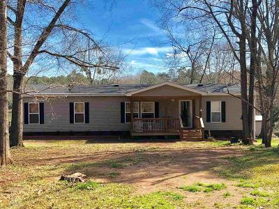 Greensboro, Eatonton Single Family Home For Sale: 114 Bear Creek Rd #A