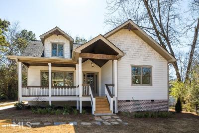 Smyrna Single Family Home Under Contract: 1322 Pierce Ave