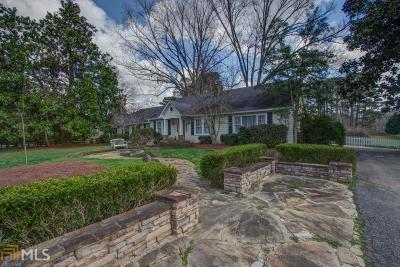 Alpharetta Single Family Home For Sale: 13285 Cogburn Rd