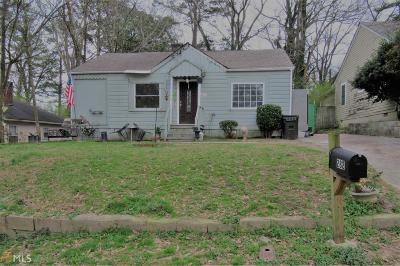 Hapeville Single Family Home Back On Market: 282 Birch St
