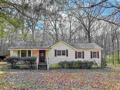 Griffin Single Family Home Under Contract: 121 Valley Hill Rd