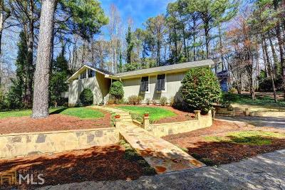 Sandy Springs Single Family Home Under Contract: 420 Lost Forest Ct