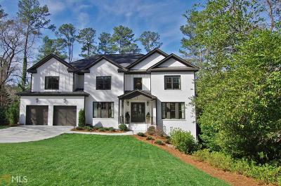 Roswell, Sandy Springs Single Family Home For Sale: 780 Starlight Dr
