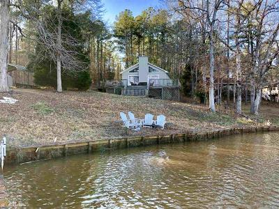 Greensboro, Eatonton Single Family Home Under Contract: 160 Anchor Point Dr