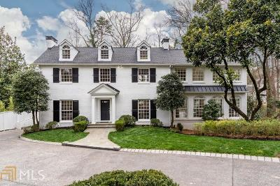 Buckhead Single Family Home For Sale: 630 W Wesley Rd