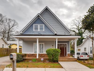 Hapeville Single Family Home Under Contract: 3110 Jackson St
