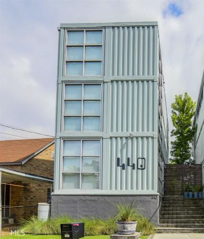 Atlanta Single Family Home For Sale: 440 Gartrell St