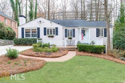Buckhead Single Family Home For Sale: 395 Allison Dr