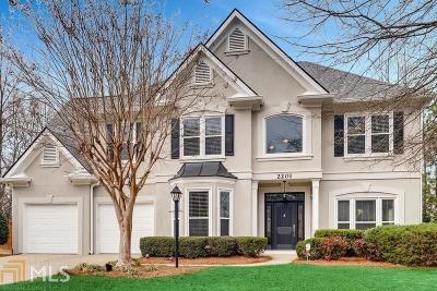 Dunwoody Single Family Home For Sale: 2201 Foxboro Ln