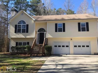 Powder Springs Single Family Home For Sale: 3626 Homewood Dr