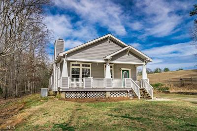 Dacula Single Family Home For Sale: 3218 Luther Wages Rd